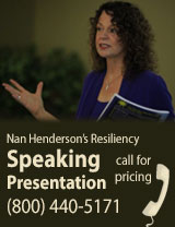 Resiliency Speaking Event