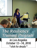 The Resiliency Training Program